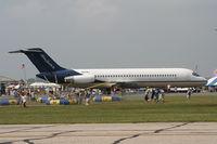 N697BJ @ KDAY - Columbus Blue Jacket's plane