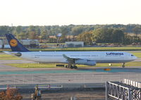 D-AIFD @ DTW - Lufthansa surprised us and brought in an A340 instead of the usual A330