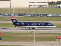 N407AW @ DTW - Air Wisconsin, formerly a United Express, now with U.S. Airways