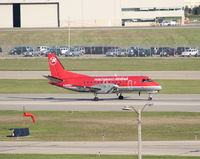 N422XJ @ DTW - Another Saab 340 heading out