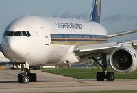 9V-SVJ @ EGCC - The mighty 777 - by Kevin Murphy