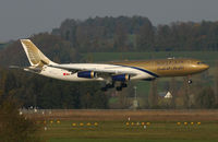 A4O-LI @ ZRH - short final RWY 14 - by Karl Haller