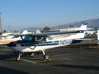 N24991 @ RHV - 1977 Cessna 152 @ Reid-Hillview Airport (San Jose), CA