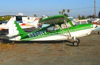 N990WY @ RHV - 1976 Bellanca 7ECA minus prop @ Reid-Hillview Airport (San Jose), CA