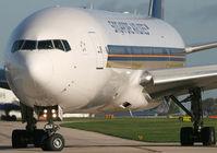 9V-SVJ @ EGCC - Singa 777 - by Kevin Murphy