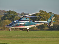 N109MJ @ EGBO - Agusta A109E Power - by Robert Beaver