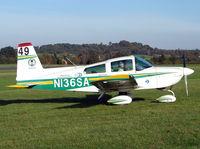 N136SA @ EGBO - Grumman AA5 Traveller - by Robert Beaver