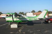 N8375Z @ PAO - 1963 Cessna 210 @ Palo Alto Airport, CA