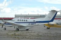C-GDFT @ CYYC - Parked at Esso - by Bill Knight