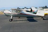 N77281 @ HWD - TAO Engineering 1946 Cessna 120 @ Hayward Municipal Airport, CA
