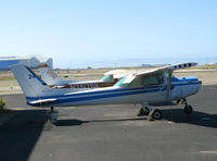 N47081 @ OAK - Rather forlorn 1979 Cessna 152 minus engine (fleet # 24) @ Oakland International Airport, CA