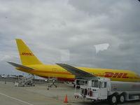 N702AX @ SAN - SAN cargo ramp