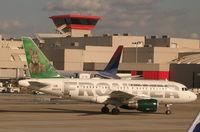 N803FR @ ATL - A318 at Atlanta