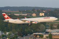 HB-JMB @ ZRH - SWISS A340-300 - by Andy Graf-VAP