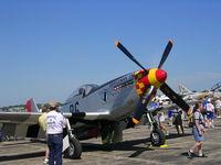 N551J @ YIP - Jack Roush P-51