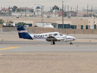N243AT @ VGT - Airline Transport Professionals Corp Of USA / 2000 Piper PA-44-180