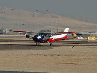 N9572H @ VGT - West Air Aviation - Giles Holding Co. / 1975 Cessna 172M - (Skyhawk)