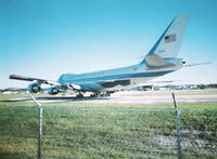92-9000 @ DAB - Air Force One at Daytona