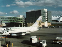 N212US @ DEN - Frontier in 1996