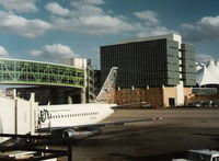 N217US @ DEN - Frontier in 1996