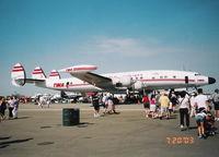 N6937C @ DAY - Connie at Dayton Airshow