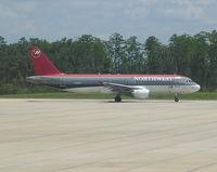 N331NW @ MCO - Northwest A320