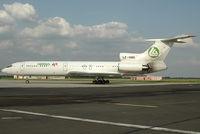 LZ-HMS @ BTS - Hemus Air Tupolev 154