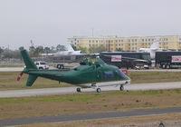 N169BH @ DAB - One of many choppers at Daytona 500