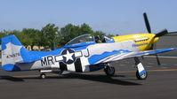N651JM @ 7FL6 - P-51 Obsession