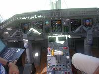 PT-SOM @ ORL - cockpit