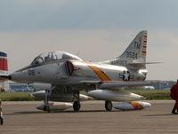 N524CF @ YIP - A-4 Skyhawk