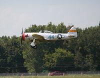 N647D @ YIP - Landing at YIP