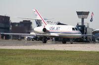 N823AA @ YIP - USA Jet