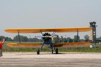N79650 @ YIP - Bi plane - by Florida Metal