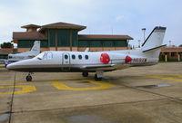 N69XW @ PRB - Blue Sky Jet 1974 Cessna 500 @ Paso Robles Municipal Airport, CA