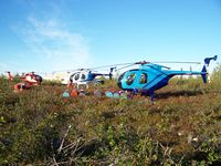 C-FERA - ERA, MNU, CKV At Crown Camp, NWT - by Lins