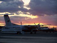 C-FASC @ CYZF - ASC Sitting Outside Arctic Sunwest Hangar - by Lins