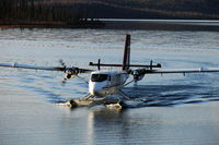 C-FATO - ATO Arriving At Bransons Lodge, Great Bear Lake - by Lindsey Gebauer