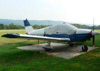 N5100L @ N05 - Blue 1967 Cherokee Archer One-eighty amid the green surroundings of Hackettstown, NJ. - by Daniel L. Berek