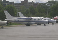 N10HT @ BKL - MU-2 Cargo