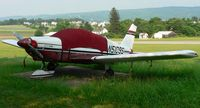 N5109S @ N05 - Sad, faded 1971 Cherokee Archer sits it out at Hackettstown Airport. - by Daniel L. Berek