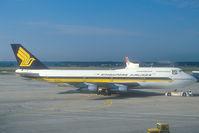 N125KL @ FRA - Singapore Airlines Boeing 747-300