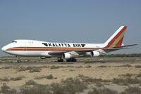 N704CK @ SHJ - Kalitta Air Beoing 747-200