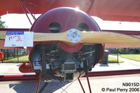 N9015D @ W03 - A Lycoming in place of a Oberursel for this replica - by Paul Perry