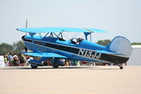 N13JJ @ PTK - biplane - by Florida Metal