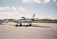 N131BA @ KAXN - Bemidji Aviation Queen Air - by Kreg Anderson