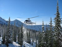C-GIYN @ BACKCOUNTR - C-GIYN coming in to Ymir Yurts near Nelson, BC - by Mark Miller