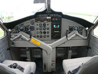 N901ST @ 0C2 - cockpit after aircraft overhaul in 2005 - by Douglas S. Smith