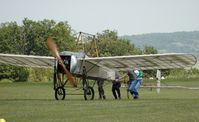 F-AZPG - Bleriot XI roll out - by Volker Hilpert