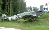 3W-K @ LEY - Supermarine Spitfire - by Volker Hilpert